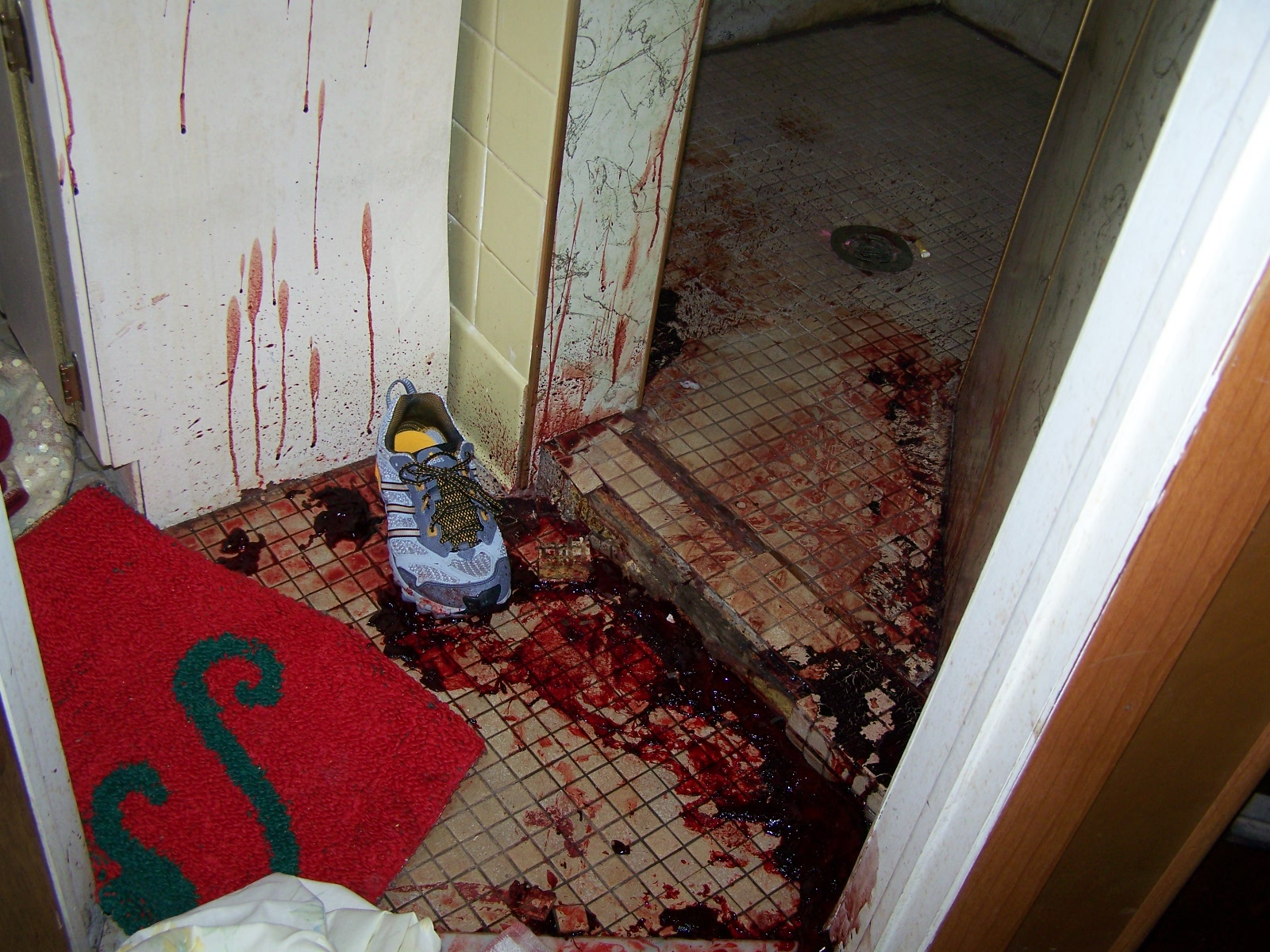 Remarkable, Real crime scene consider, that