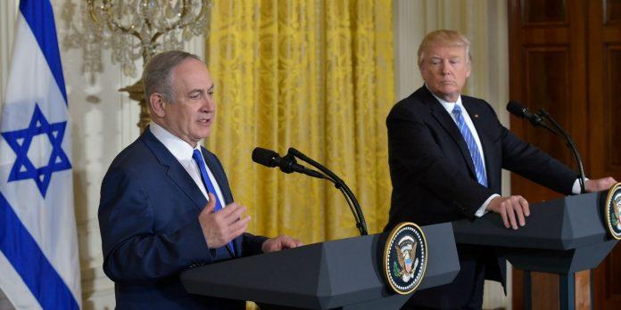 donald trump et la palestine
