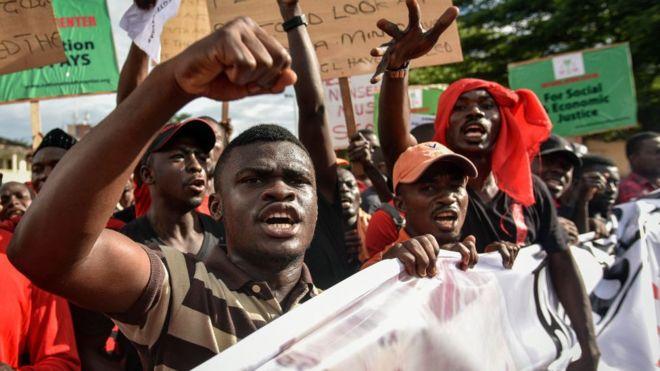 ghana-manifestation-prix-petrole