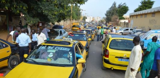 greve des taximans