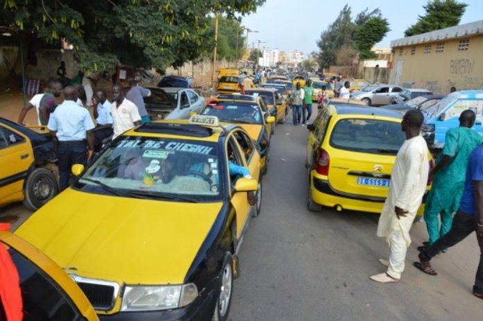 greve des taximans
