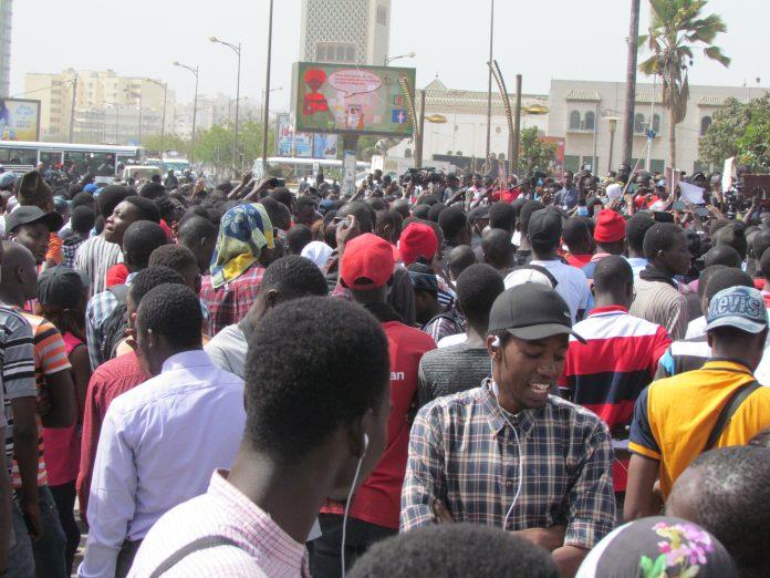 Kéwoulo -- Marche des étudiants