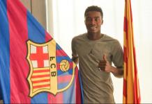 """Fc Barclone : """"Je suis près de la porte de..."""", Moussa Wagué"""