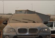 Dakar, capitale voiture immobiles